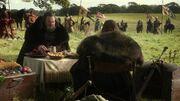 Robert et Eddard bivouac(1x02)