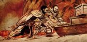 Sladhor Saan et Davos en train de faire de la contrebande