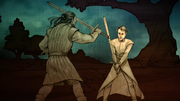 Brandon vs Petyr (H&T Rébellion de Robert)