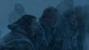 Gendry aperçoit l'ours spectral