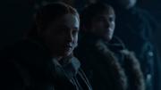Sansa affirme que Littlefiner a tué Lysa pour accéder au pouvoir
