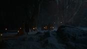Schlingue conduit Sansa au Bois sacré