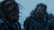 Tormund et Sandor discutent 1