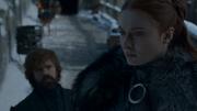 Sansa parlant avec Tyrion