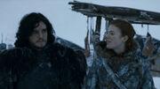 Ygrid dit que Jon peut survivre s'il plaît à Mance (3x01)