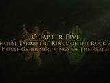 Maison Lannister, les Rois du Roc & Maison Jardinier, les Rois du Bief