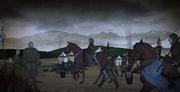 Walder Frey arrive au Trident en retard