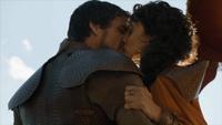Ellaria embrasse Oberyn