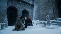 Sansa et Robin