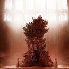 Le trône dans les livres