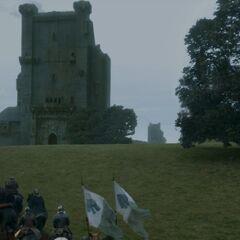 L'armée Stark arrive aux Jumeaux