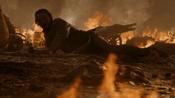 Bronn tombe de cheval