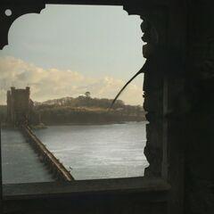 Tour ouest des Jumeaux, vu de l'est