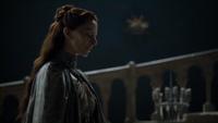 Lysa dit à Sansa qu'elle est au courant de ce qu'elle a fait