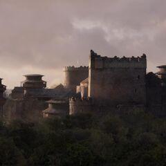 Winterfell: vue depuis la tour abandonnée