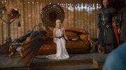 Daenerys et ses dragons à Yunkaï