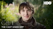 Game of Thrones The Cast Signs Off