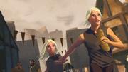 Viserys et Daenerys