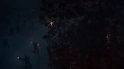 Attaque des spectres dans le Bois sacré
