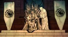Varys aux cotés du Roi Fou