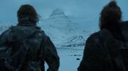 Sandor et Thoros discutent
