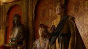 Joffrey tenant la bourse du champion