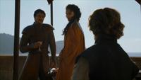 Oberyn boit avant le combat