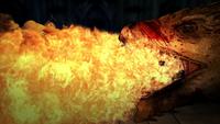 Rhaenyra brûlée vive