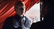 Brienne demande à Jaime de la laisse négocier avec le Silure