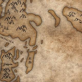Valrya sur la carte, après le Fléau