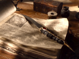 Dague en acier valyrien