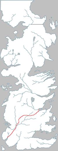 Route de la Rose carte