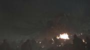Drogon attaqué par les spectres