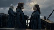 Theon et Yara (8x01)