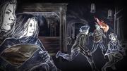 Theon joue avec les enfants Stark (Histoires & Traditions)