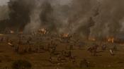 Les soldats Lannister en mauvaise posture