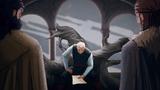 Jon Arryn reçoit le message du Roi Fou