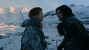 Jon se dispute avec Ygrid (2x07)