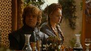 Tyrion répond à Joffrey lors de son mariage