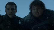 Pypar et Sam accueillent Jon à Châteaunoir