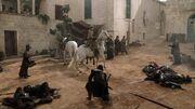 Jaime Lannister se retire après l'affrontement