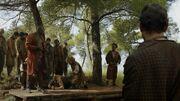 Tyrion passe à tabac un esclavagiste de Malko