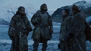 Béric Sandor Gendry et Thoros discutent