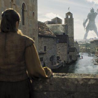 Le Titan de Braavos vu de derrière