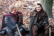Arya et Eddie