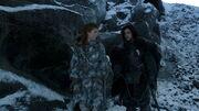 Jon Snow et Ygrid discutent de sujets sexuels
