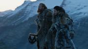 Tormund et Jon discutent