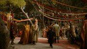Oberyn et Ellaria croisent Tyrion lors du mariage de Joffrey (4x02)