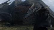 Drogon Daenerys et Jon Snow