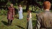 Joffrey Sansa Arya Mycah(1x02)